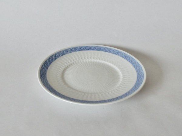 Plate (M) / Blue Fan