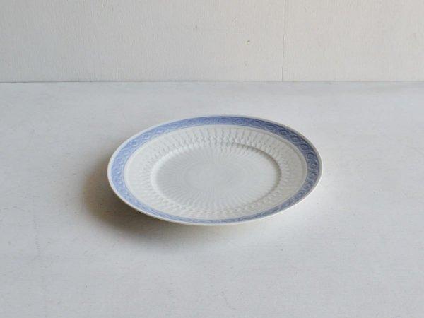 Plate (L) / Blue Fan