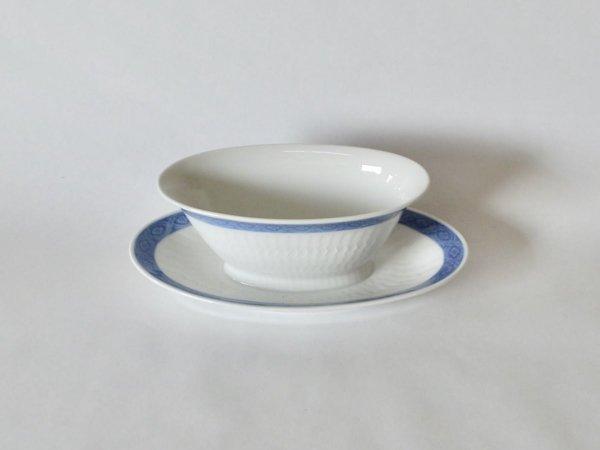 Bowl / Blue Fan