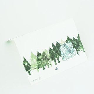 グリーティングカード あがたの森