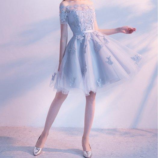 花柄 レース シースルー ウエストリボン 編み上げ風 ミディ丈 フレア ワンピース ドレス 二次会 お呼ばれ パーティー