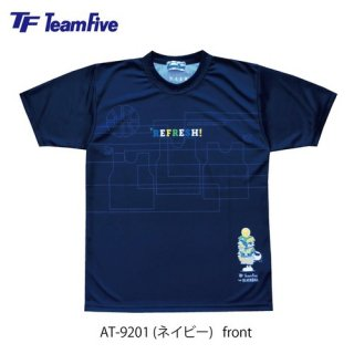<img class='new_mark_img1' src='https://img.shop-pro.jp/img/new/icons1.gif' style='border:none;display:inline;margin:0px;padding:0px;width:auto;' />Team Five  昇華Tシャツ AT-9201 ネイビー
