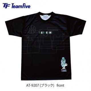 <img class='new_mark_img1' src='https://img.shop-pro.jp/img/new/icons1.gif' style='border:none;display:inline;margin:0px;padding:0px;width:auto;' />Team Five  昇華Tシャツ AT-9207 ブラック