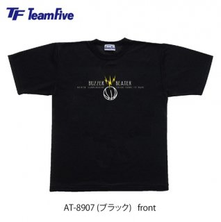 <img class='new_mark_img1' src='https://img.shop-pro.jp/img/new/icons1.gif' style='border:none;display:inline;margin:0px;padding:0px;width:auto;' />Team Five  Tシャツ AT-8907 ブラック