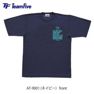<img class='new_mark_img1' src='https://img.shop-pro.jp/img/new/icons1.gif' style='border:none;display:inline;margin:0px;padding:0px;width:auto;' />Team Five  Tシャツ AT-9001 ネイビー