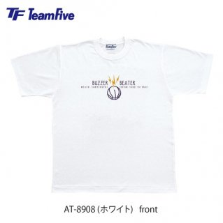 <img class='new_mark_img1' src='https://img.shop-pro.jp/img/new/icons1.gif' style='border:none;display:inline;margin:0px;padding:0px;width:auto;' />Team Five  Tシャツ AT-8908 ホワイト
