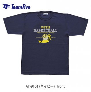 <img class='new_mark_img1' src='https://img.shop-pro.jp/img/new/icons1.gif' style='border:none;display:inline;margin:0px;padding:0px;width:auto;' />Team Five  Tシャツ AT-9101 ネイビー