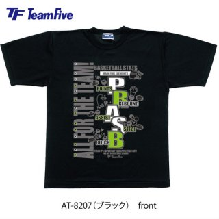 <img class='new_mark_img1' src='https://img.shop-pro.jp/img/new/icons1.gif' style='border:none;display:inline;margin:0px;padding:0px;width:auto;' />Team Five  Tシャツ AT-8207 ブラック