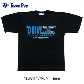 <img class='new_mark_img1' src='https://img.shop-pro.jp/img/new/icons1.gif' style='border:none;display:inline;margin:0px;padding:0px;width:auto;' />Team Five  Tシャツ AT-8307 ブラック