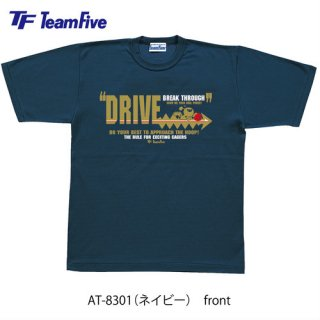 <img class='new_mark_img1' src='https://img.shop-pro.jp/img/new/icons1.gif' style='border:none;display:inline;margin:0px;padding:0px;width:auto;' />Team Five  Tシャツ AT-8301 ネイビー