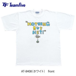 <img class='new_mark_img1' src='https://img.shop-pro.jp/img/new/icons1.gif' style='border:none;display:inline;margin:0px;padding:0px;width:auto;' />Team Five  Tシャツ AT-8408 ホワイト