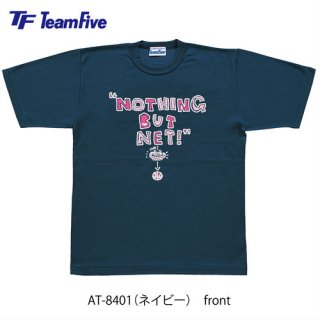 <img class='new_mark_img1' src='https://img.shop-pro.jp/img/new/icons1.gif' style='border:none;display:inline;margin:0px;padding:0px;width:auto;' />Team Five  Tシャツ AT-8401 ネイビー
