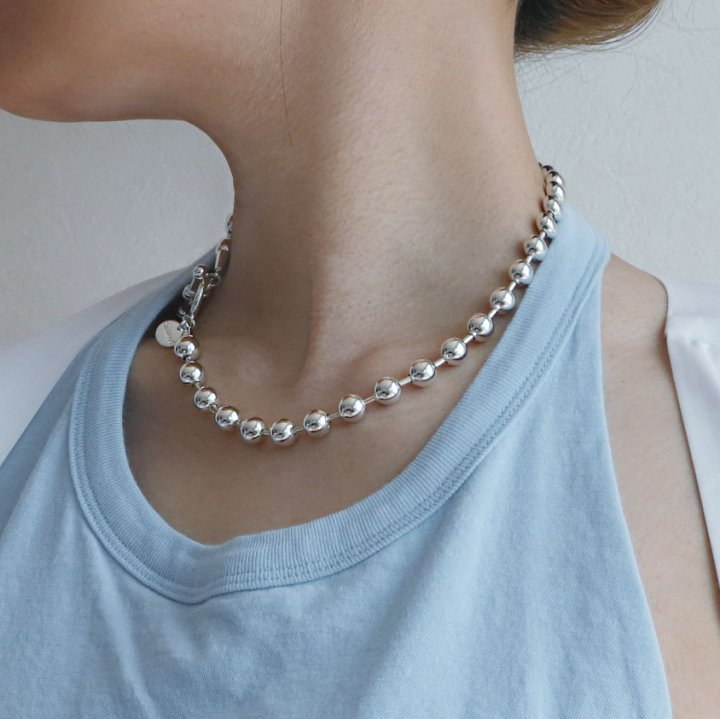 BALL CHAIN<br>-necklace