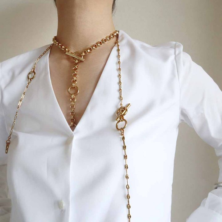 SHELL<br>GD<br>-necklace