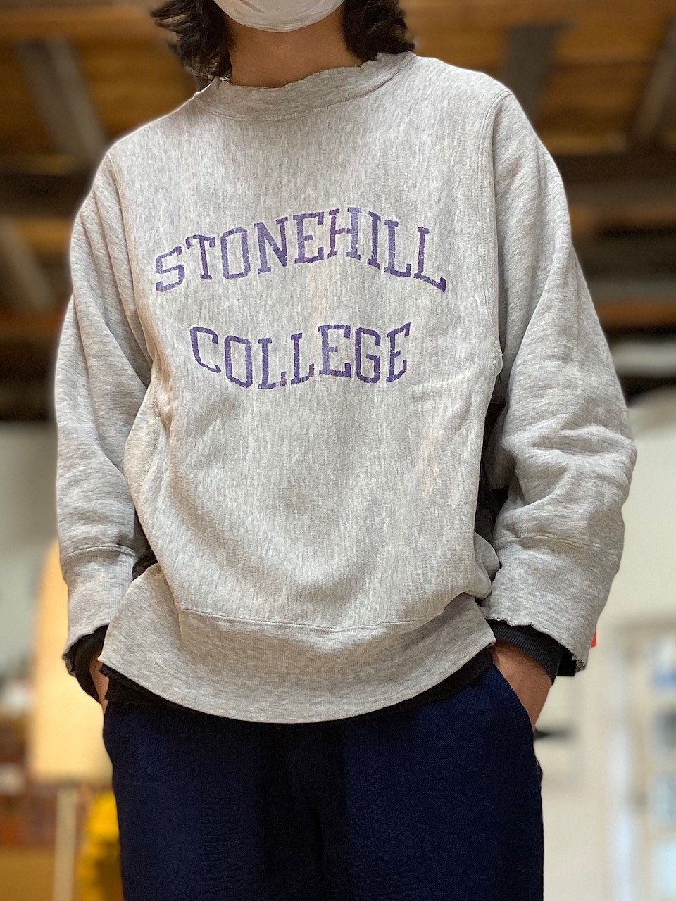 <img class='new_mark_img1' src='https://img.shop-pro.jp/img/new/icons14.gif' style='border:none;display:inline;margin:0px;padding:0px;width:auto;' />Switching side and under sleeve pullover sweat 9