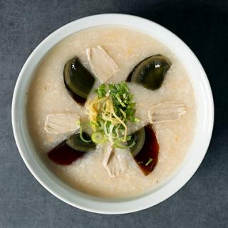 甜蜜蜜オリジナル『香港美肌粥』ピータンと塩豚(冷凍クール便)