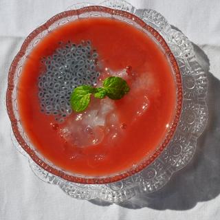 【期間限定】いちごのうるおいスープ