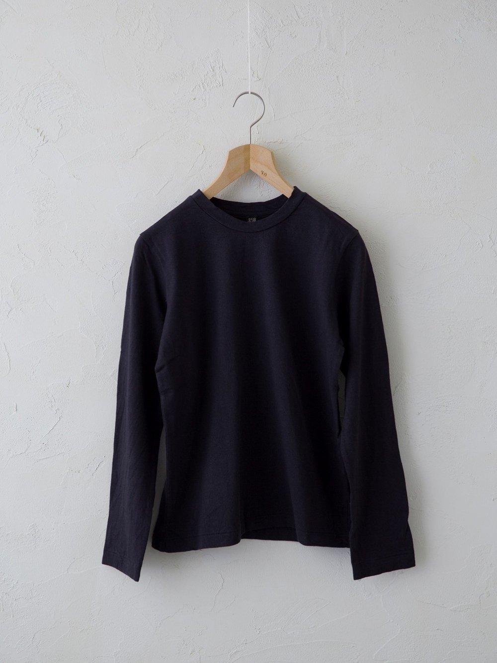 & 12 Linen(天竺)長袖Tシャツ -standard-(Ladies' & Men's)