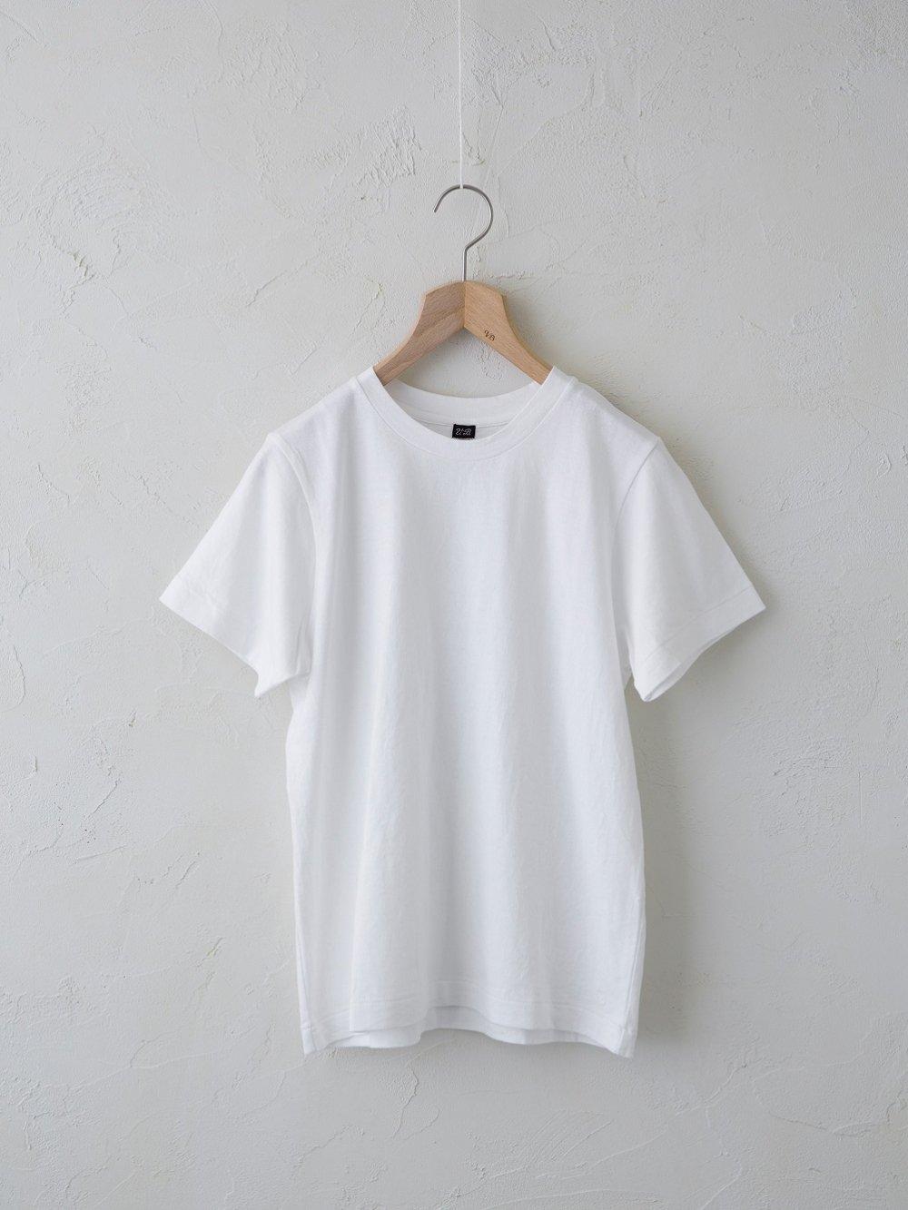 & 12 Linen(天竺)半袖Tシャツ -standard-(Ladies' & Men's)