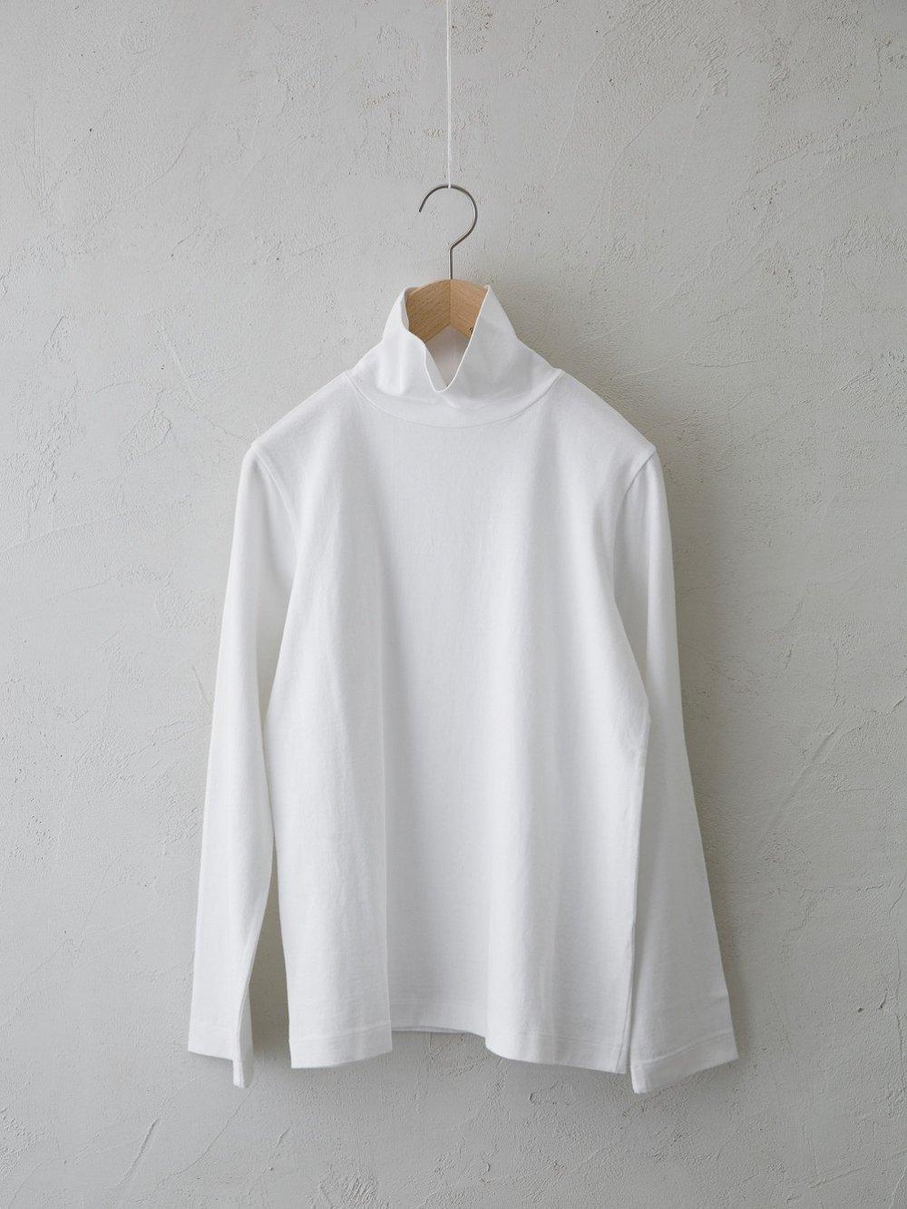 & 12 Linen(天竺) ハイネック長袖Tシャツ-standard- (Ladies' & Men's)