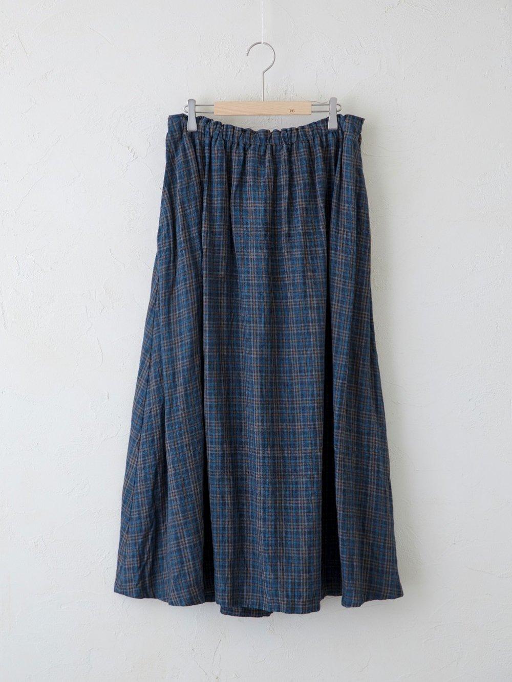 Vintage Check  ギャザースカート