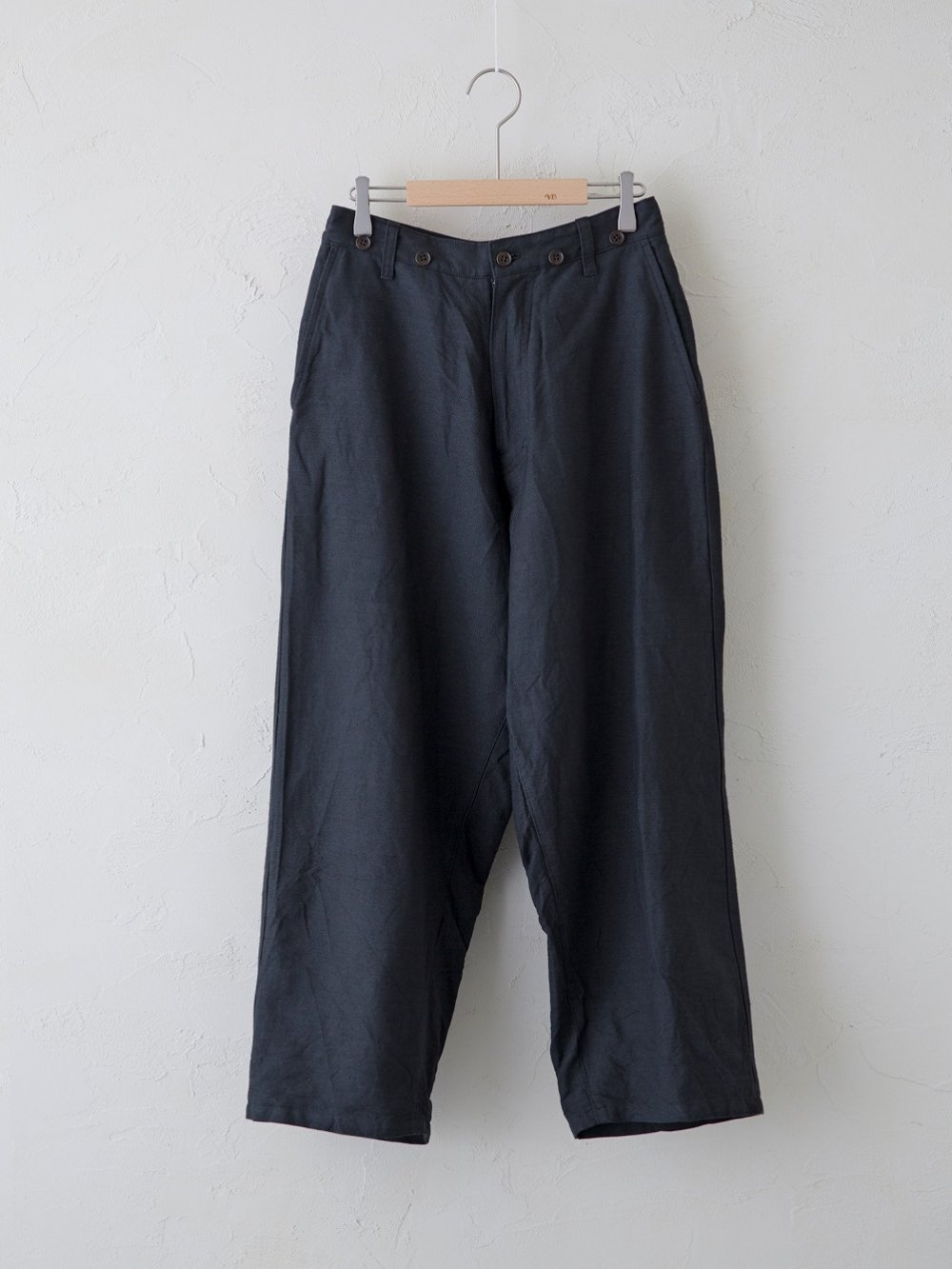Cotton Linen ラチネ パンツ(Ladies' & Men's)