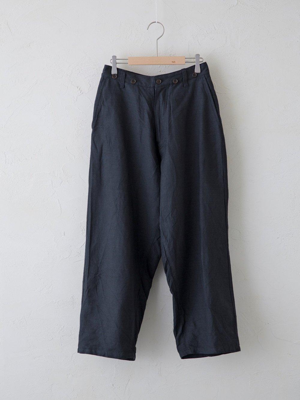 Cotton Linen ラチネ パンツ(Ladies' & Men's)