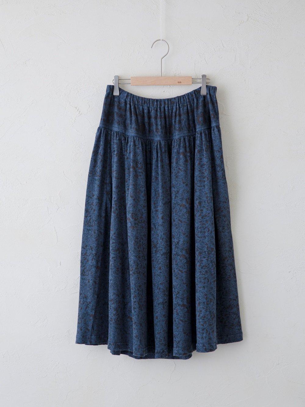 KL Plain Print ギャザースカート