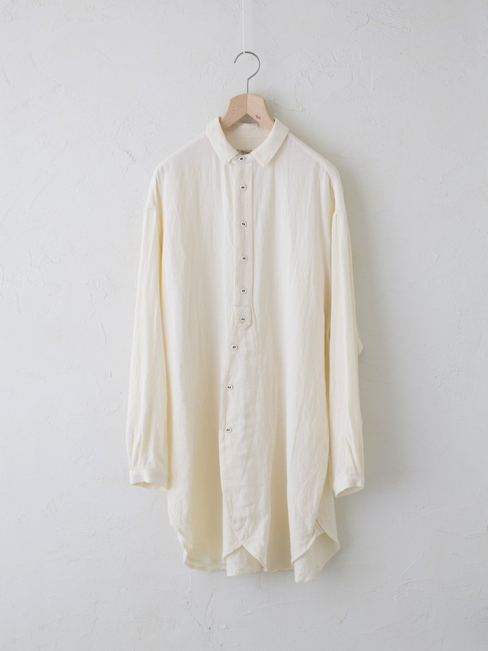 Vintage Double Face チュニックシャツ(Unisex)