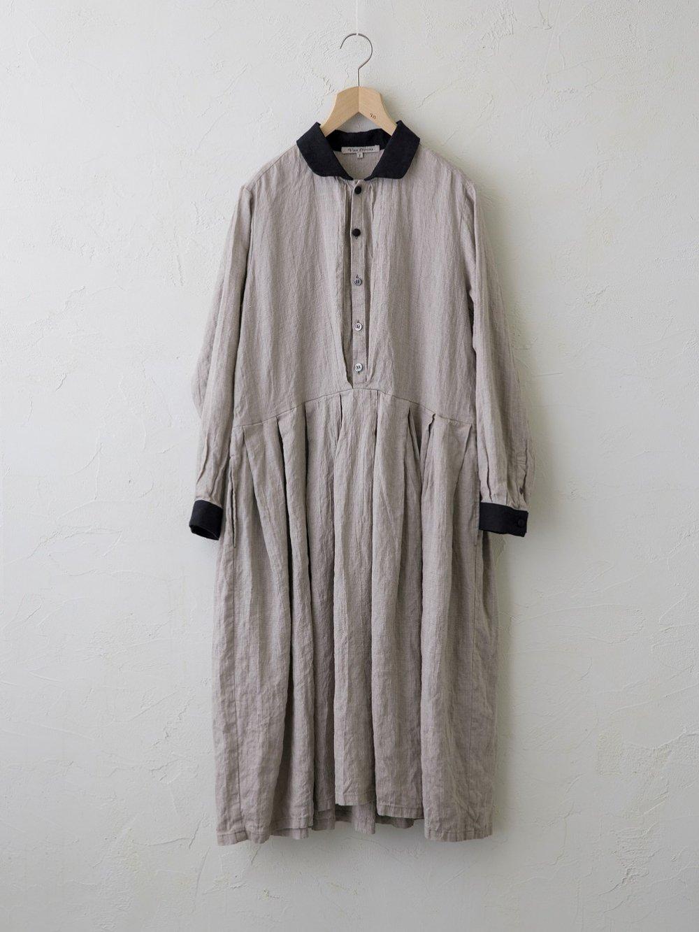Belarus Linen シャツワンピース