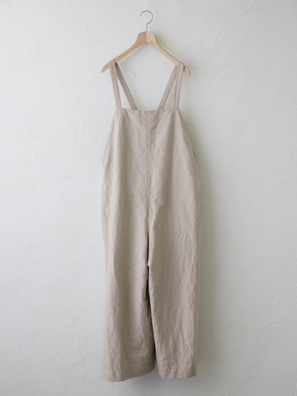 Cotton Linen ラチネ サロペット