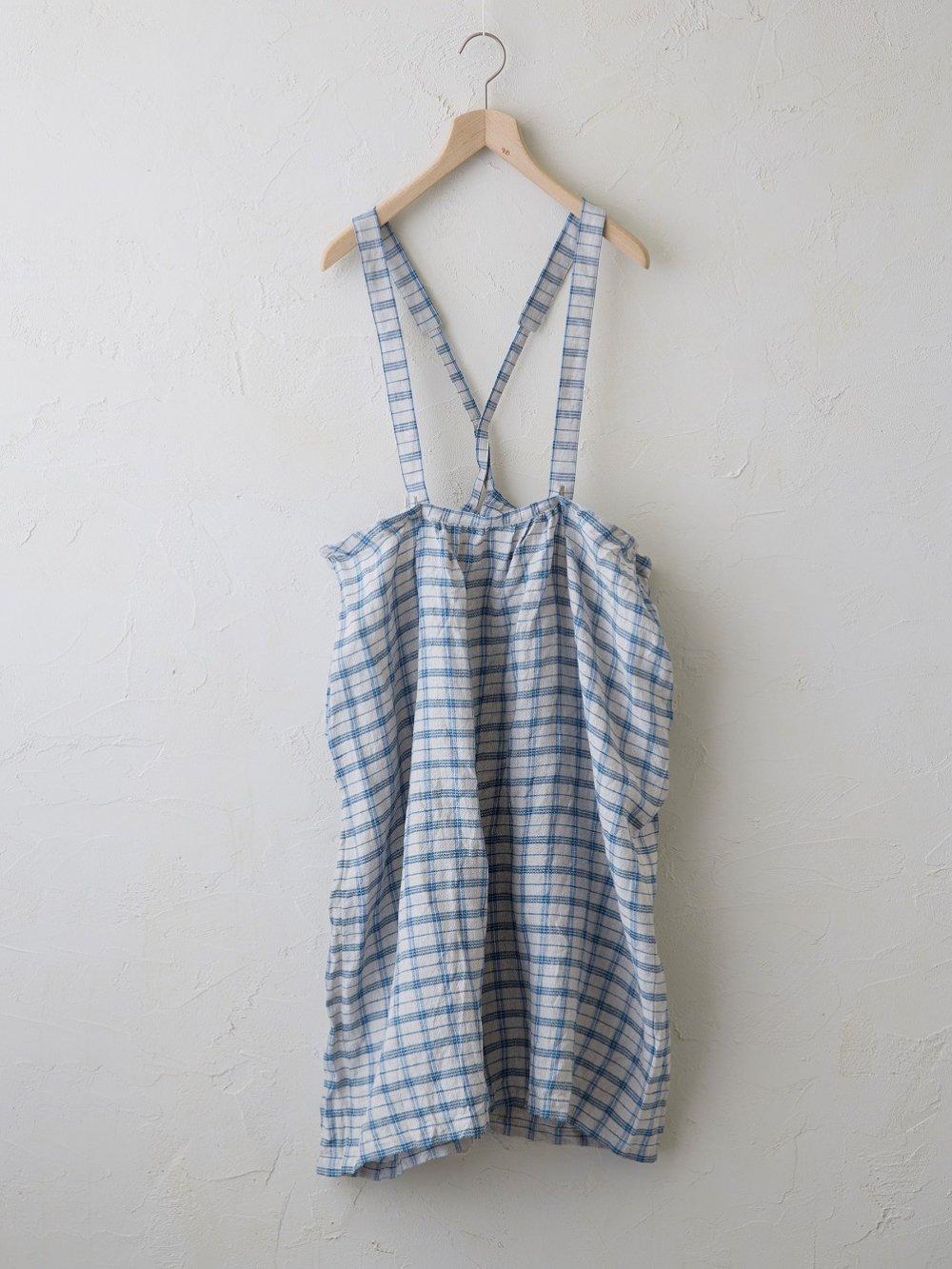 Vintage Check(ドビー+平織) ジャンパースカート