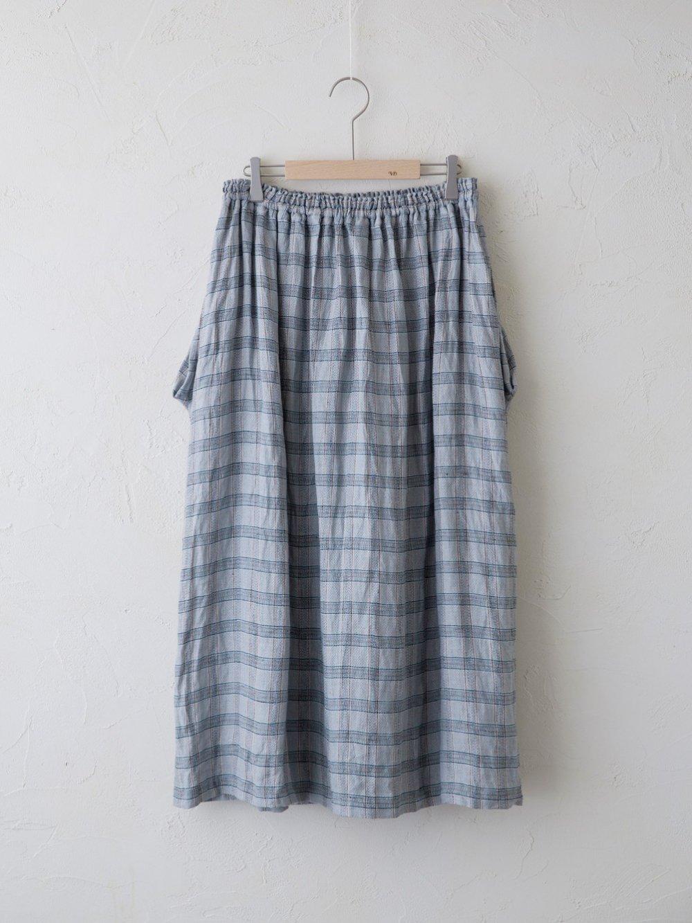 Vintage Check ドレープポケットスカート