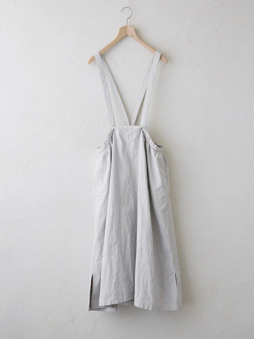 Belarus Linen(顔料プリント) ジャンパースカート