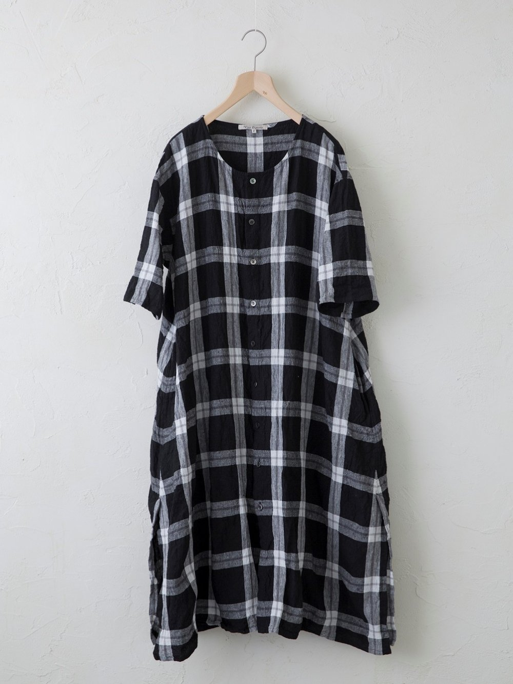 Linen Check / Stripe ワンピース