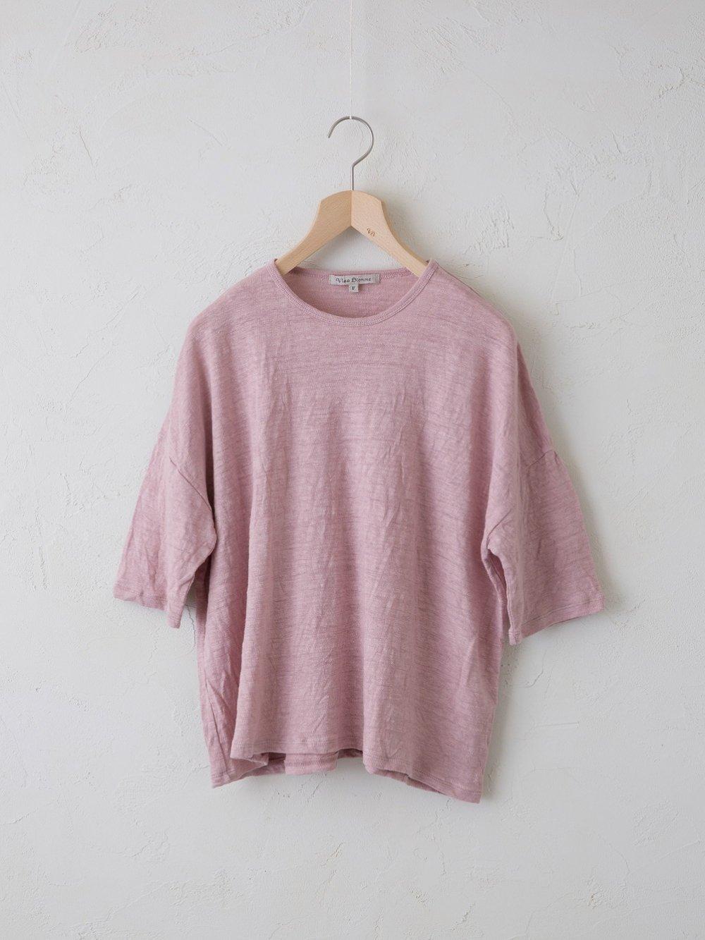 【限定】 KL Plain 5分袖ワイドTシャツ