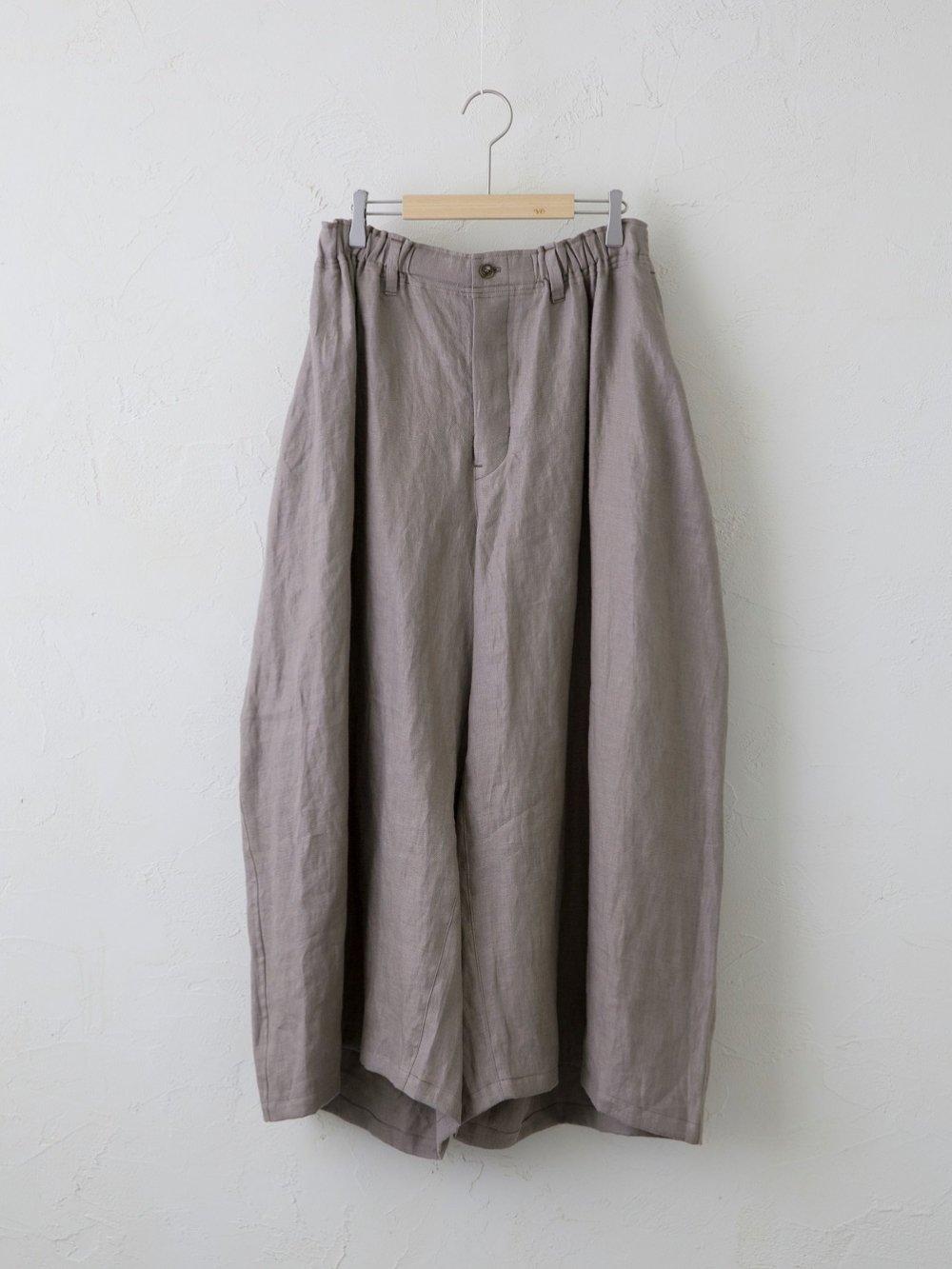 Soft Linen Twill カーブパンツ