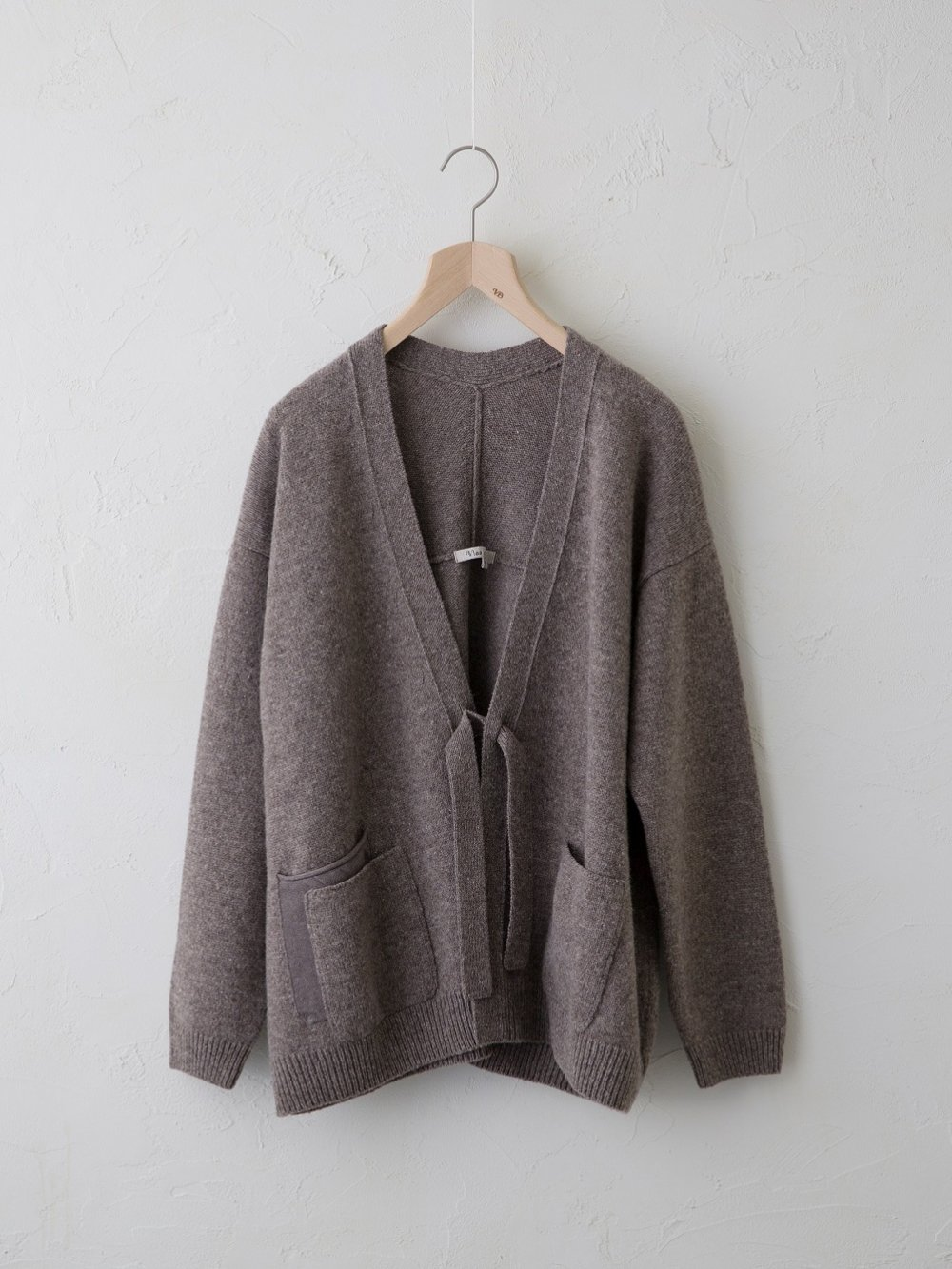 KL × Natural Color Wool ポケット付きカーディガン