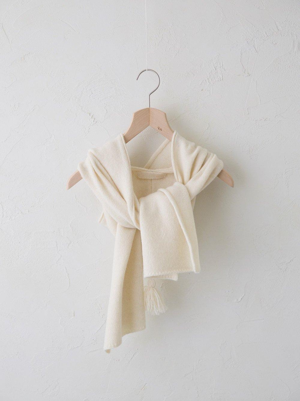 KL × Natural Color Wool フーデッドマフラー