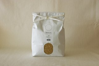 新米【玄米】 自然栽培ササニシキ (自家採種・熊本県産) 3kg