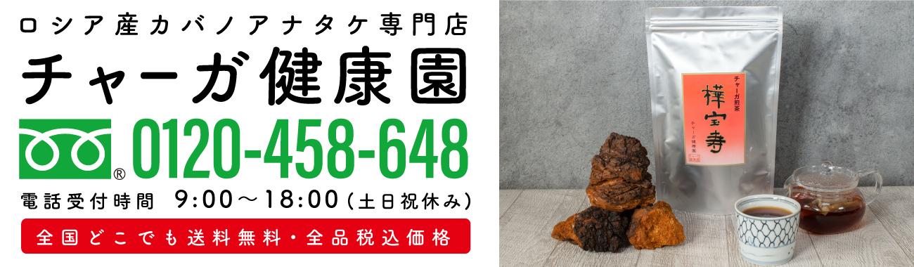 チャーガ茶通販専門店│チャーガ健康園