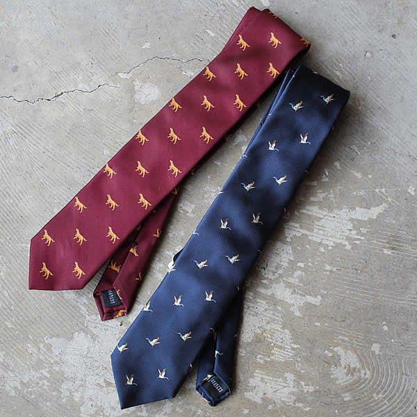 Ascot / Silk Tie (ハンティング)