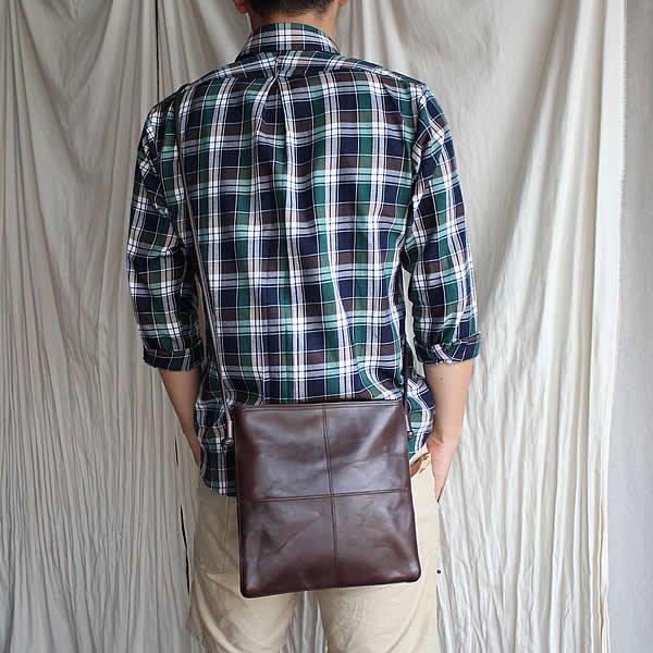 *受注生産*yes / (exclusive color order) SQUARE SACOCHE BAG L