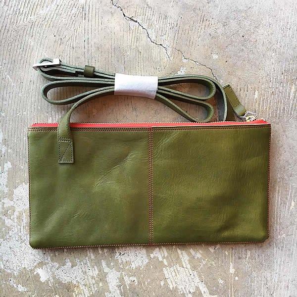 *受注生産*yes / (exclusive color order) SQUARE SHOULDER BAG 2PIECE