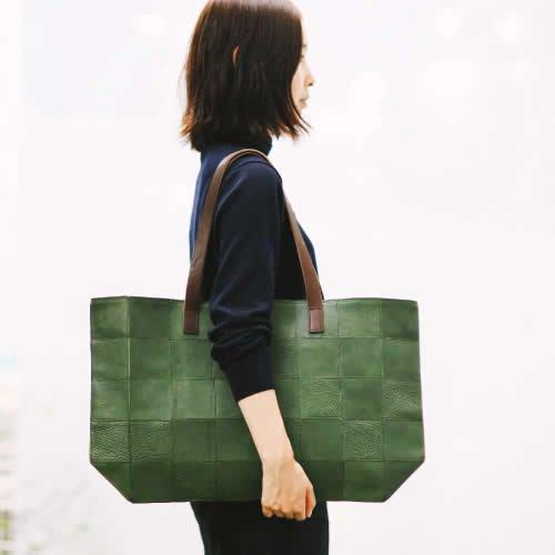 *受注生産*yes / (exclusive color order) SQUARE TOTE BAG - (L)