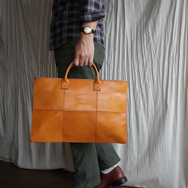 *受注生産*yes / (exclusive color order) SQUARE BRIEF BAG