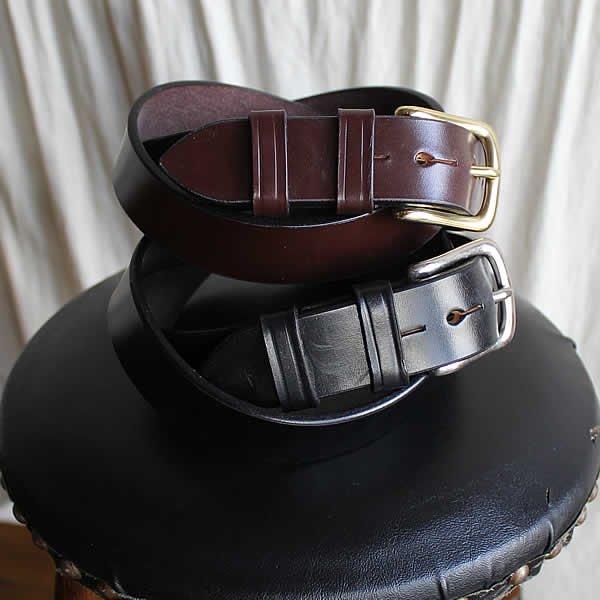 M.F.SADDLERY / 1.25inch Saddle Leather Belt