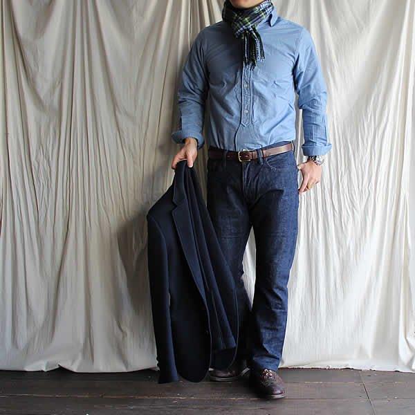 Voler dans le ciel / tailored 5pocket denim pants