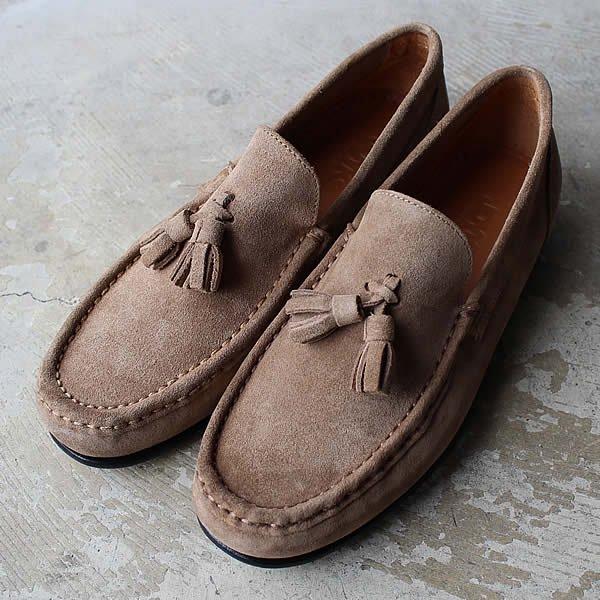 JOYKS / tassel suede loafer