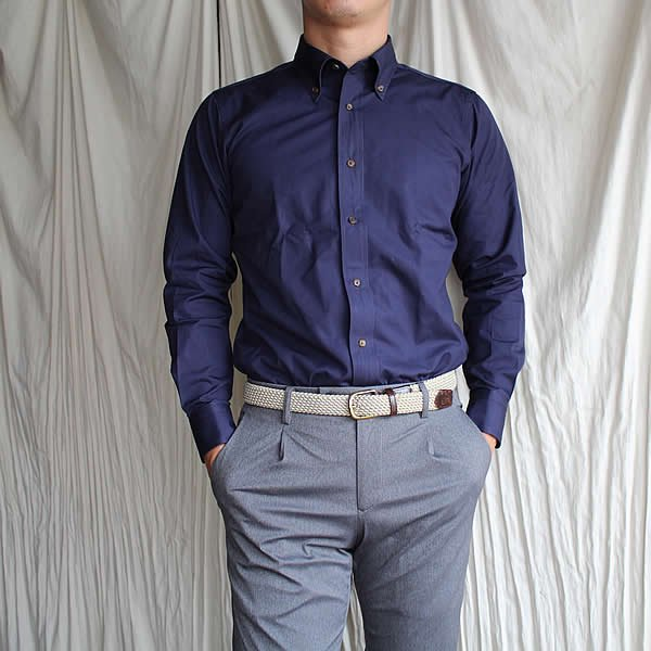 *受注生産*Atelier de vetements shirt / No.19 cotton broad button-down shirts